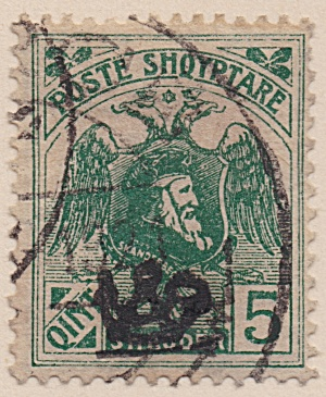 Albania Sc#130 (1920) (Image1)