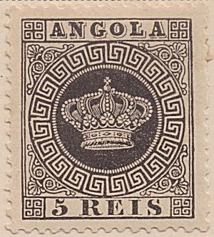 Angola Scott#01 (1870-1877) unused (Image1)