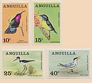 Anguilla Sc#36-39  (1968)  unused (Image1)