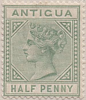 Antigua Sc#12 (1882)  unused (Image1)