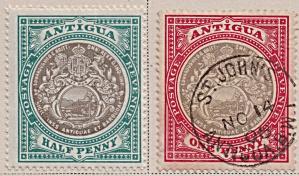 Antigua Sc#21-22 (1903) (Image1)