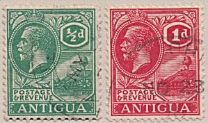 Antigua Sc#42-43 (1921) (Image1)