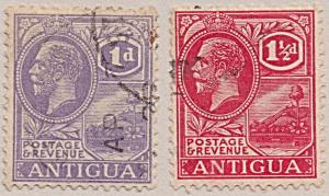Antigua Sc#44, 46 (1922-1926) (Image1)