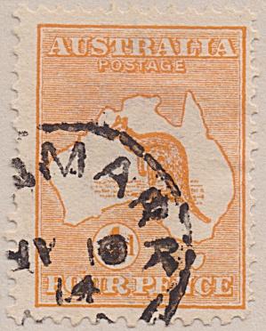 Australia Sc#06  (1913) (Image1)
