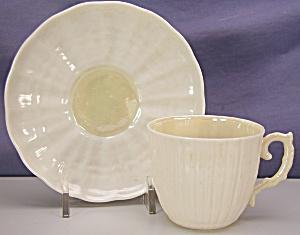 Belleek Demitasse Tridacna Cup&Saucer (Image1)