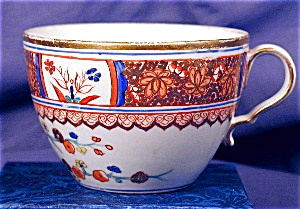 Probable Spode Bute shape hand painted cup (Image1)
