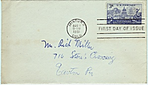 Scott 1001 Envelope (Image1)