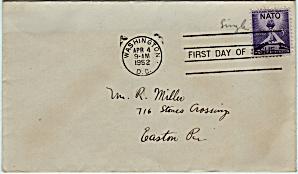 Scott 1009 Envelope (Image1)
