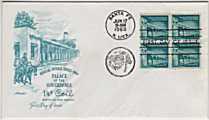 Scott 1054a Cachet Envelope