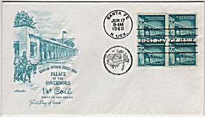 Scott 1054A Cachet Envelope (Image1)