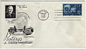 Scott 1066 Cachet Envelope (Image1)