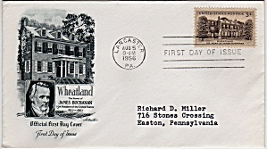 Scott 1081 Cachet Envelope (Image1)