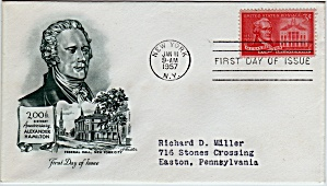Scott 1086 Cachet Envelope