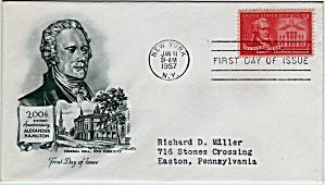 Scott 1086 Cachet Envelope (Image1)