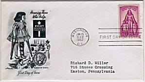 Scott 1087 Cachet Envelope (Image1)