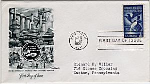 Scott 1090 Cachet Envelope (Image1)