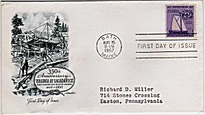 Scott 1095 Cachet Envelope (Image1)
