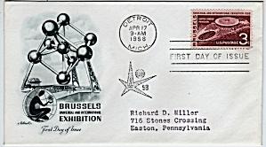 Scott 1104 Cachet Envelope (Image1)