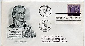 Scott 1105 Cachet Envelope (Image1)