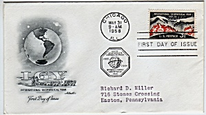 Scott 1107 Cachet Envelope (Image1)