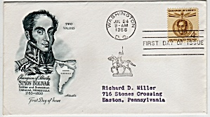 Scott 1110 Cachet Envelope (Image1)