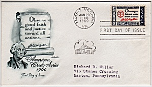 Scott 1139 Cachet Envelope