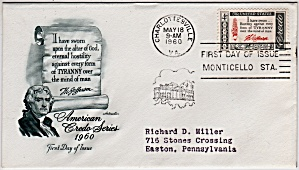 Scott 1141 Cachet Envelope