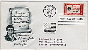 Scott 1142 Cachet Envelope