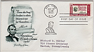 Scott 1143 Cachet Envelope (Image1)