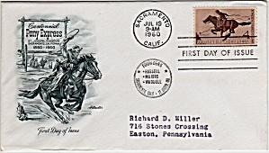 Scott 1154 Cachet Envelope (Image1)