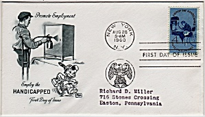 Scott 1155 Cachet Envelope (Image1)