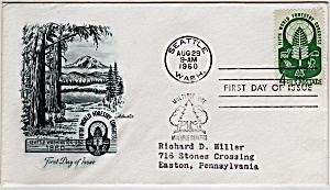 Scott 1156 Cachet Envelope (Image1)