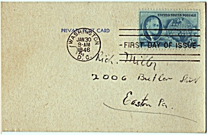Scott 933 FDC Post Card (Image1)