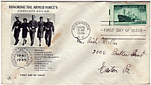 Scott 939 Cachet Envelope (Image1)
