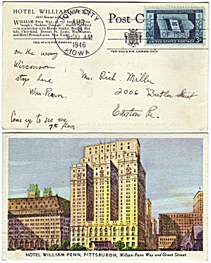 Scott 942 Post Card (Image1)