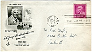 Scott 953 Cachet Envelope (Image1)