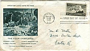 Scott 956 Cachet Envelope (Image1)