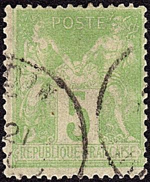 France Sc#105 (1998-1900) (Image1)