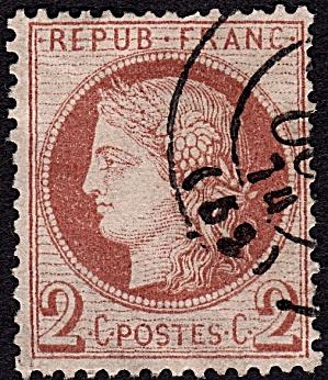 France Sc#51 (1870) (Image1)