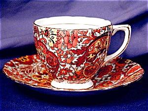 Rosina Burnt Orane Paisley demi c&s (Image1)