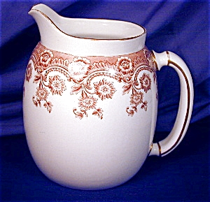 Royal Worcester Brown Transfer Pitcher