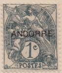 Click to view larger image of Andorra (French Admin.) Sc#01-05 unused (Image2)