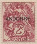 Click to view larger image of Andorra (French Admin.) Sc#01-05 unused (Image3)