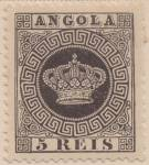 Angola Scott#01 (1870-1877) unused
