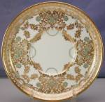 Click to view larger image of Aynsley Jeweled/Enameled & Gilt demi c&s (Image4)