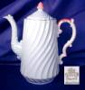 Click to view larger image of Aynsley light blue Coffee Pot & demis. (Image2)