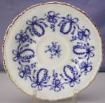 Click to view larger image of Coalport cobalt & white demitasse c&s (Image5)