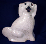 Click here to enlarge image and see more about item ENG017: Staffordshire Spaniel c. 1890