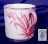 Click to view larger image of Copeland pink grass demi cup & saucer (Image2)