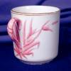 Click to view larger image of Copeland pink grass demi cup & saucer (Image3)